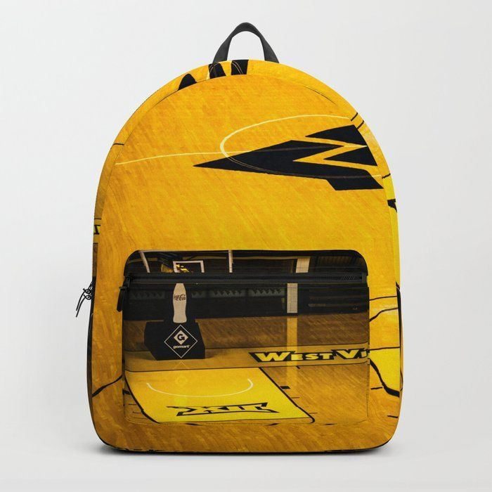 "WVU Mountaineers Backpack and Gift Ideas. West Virginia. Designing our premium Backpacks is a meticulous process, as Artists have to lay out their artwork on each component. One size fits all men and women, with heavy-duty construction that's able to handle the heavy lifting for all your school and travel needs.     - Standard unisex size: 17.75"" (H) x 12.25"" (W) x 5.75"" (D)   - Crafted with durable spun poly fabric for high print quality   - Interior pocket fits up to 15"" laptop #wvum #wvumountaineers"