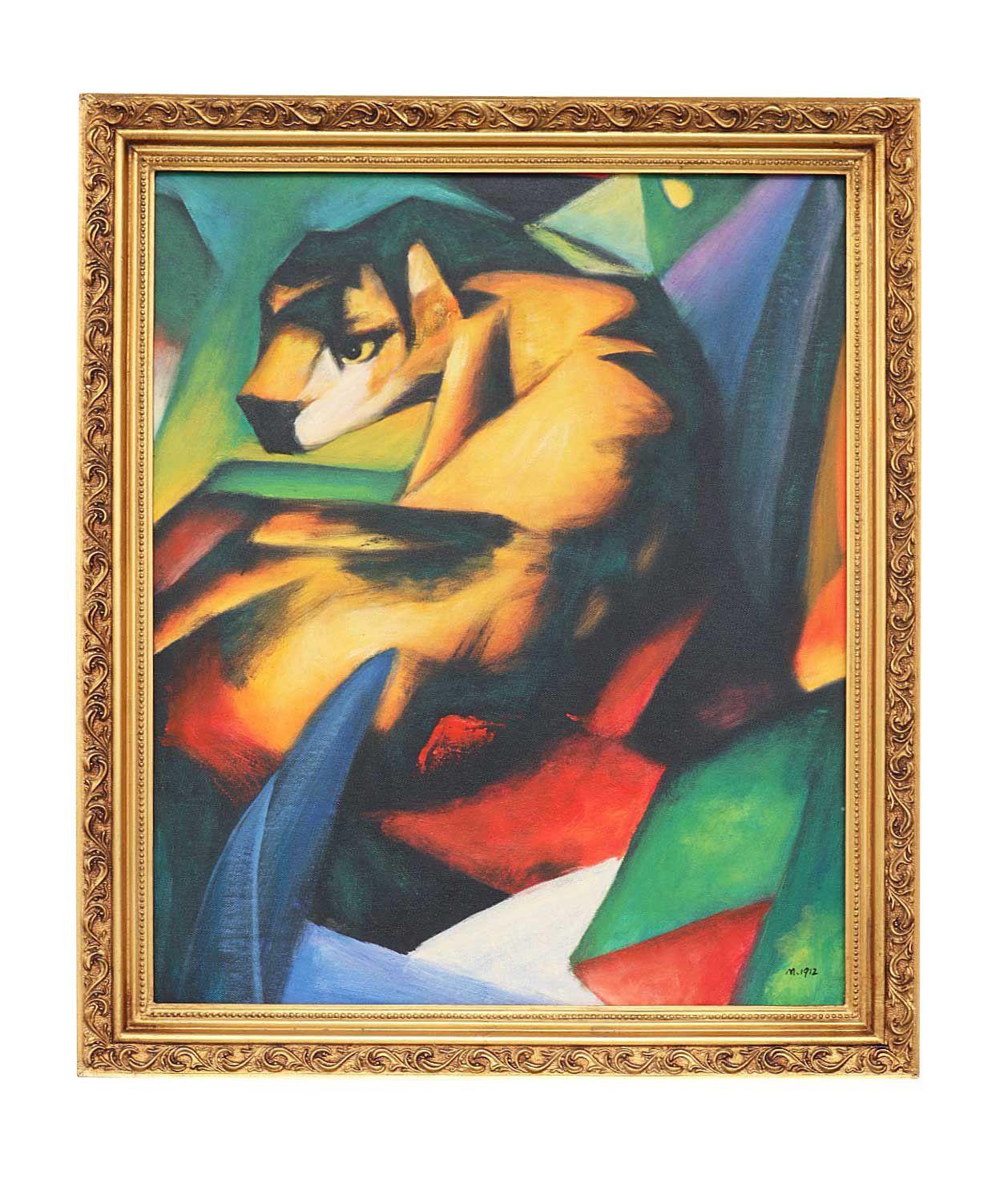 Wunderschönes handgemaltes Gemälde, Öl auf Leinwand, mit Rahmen. Wie ...
