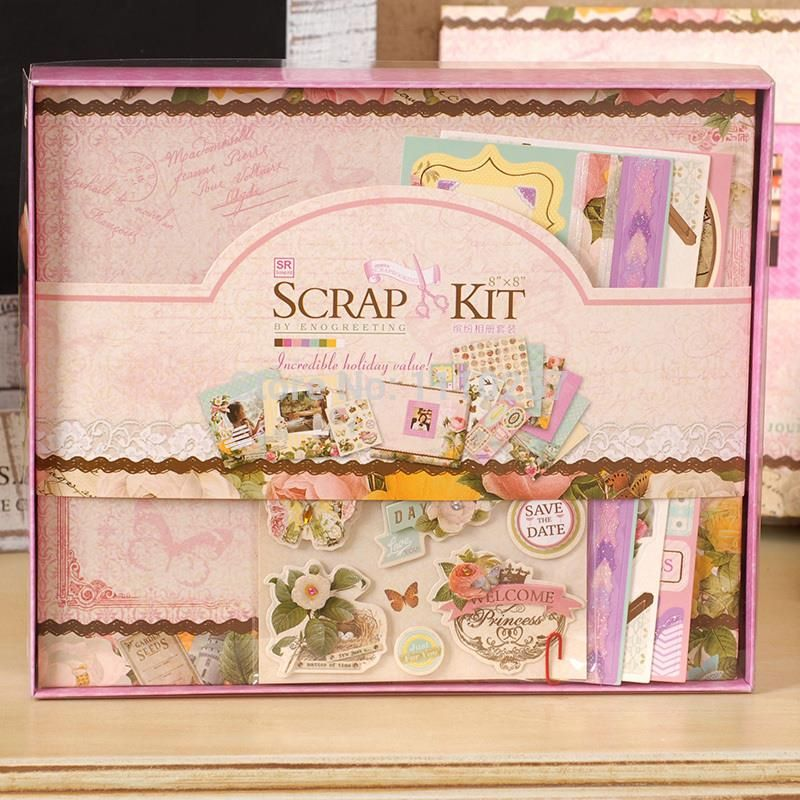 Cheap Album Kit Buy Quality Scrapbooking Kits Directly From China Scrapbook Suppliers X Sweet Flower Photo Albumcomplete