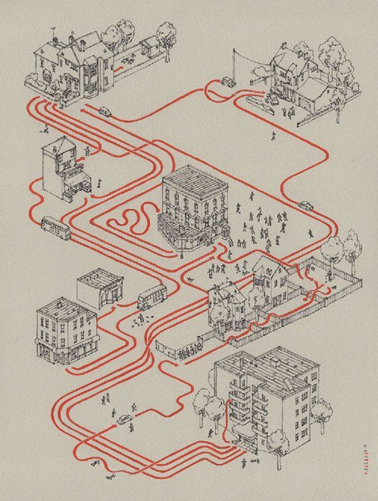 Classic movies mapped out in style Movie adventures are mapped out with Andrew Degraff's movie map series including Star Wars, Indiana Jones, and The Goonies. #arquitectonico