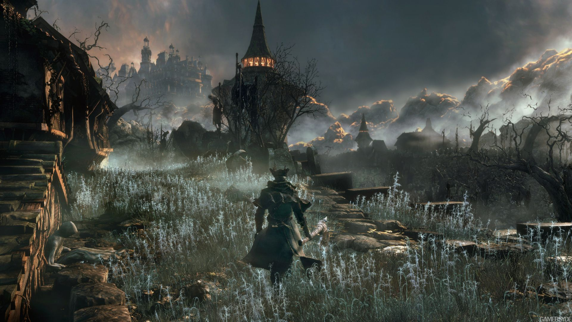 Bloodborne Gameplay Demo Will Make You Want A Ps4 Bloodborne Dark Souls Bloodborne Game