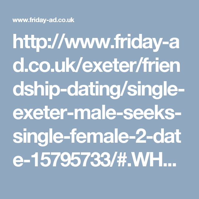dating Devon UK