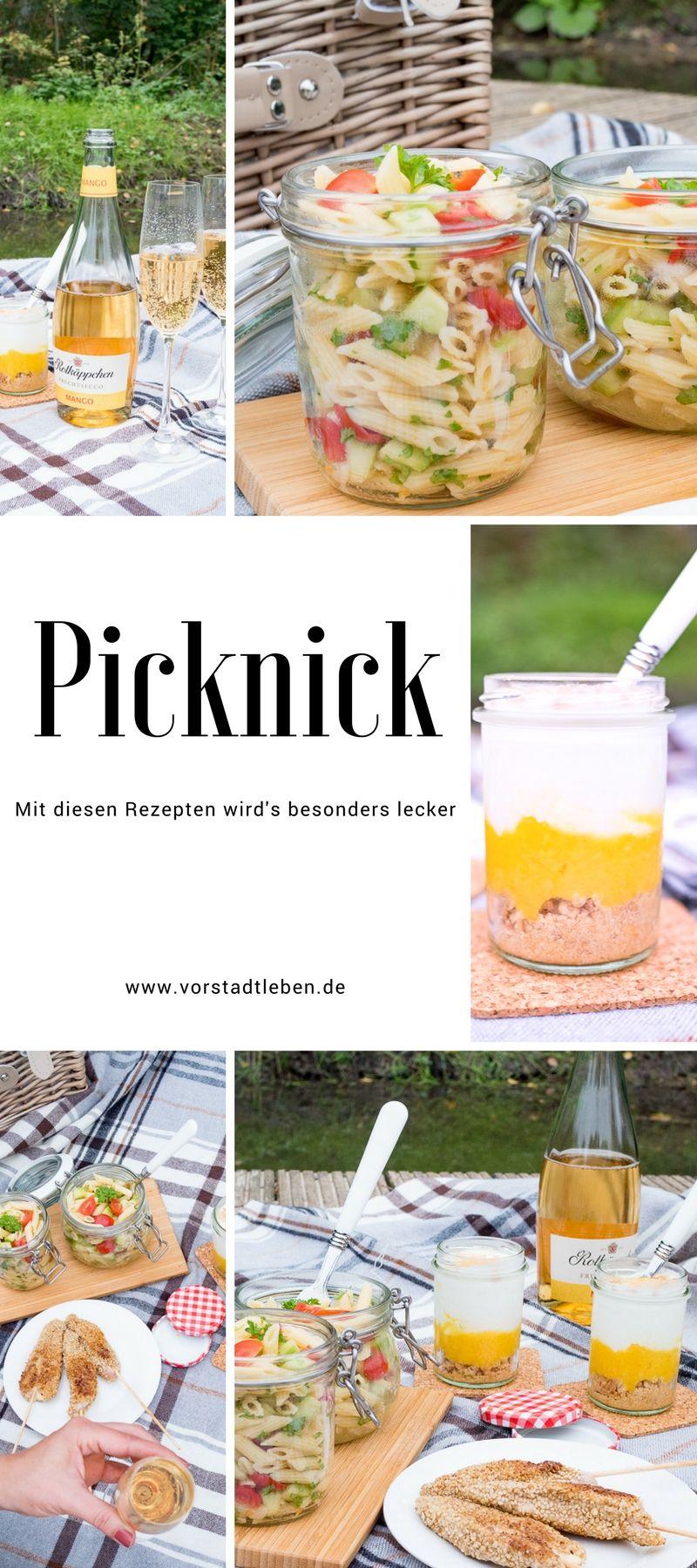 Romantisches Picknick Essen - Sonntagsspaziergang