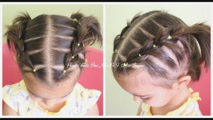 7 Consejos Rapidos Para Peinados Faciles Para Nina De 9 Anos Imagenes En 2020 Peinados Peinados De Ninas Faciles Peinados Faciles