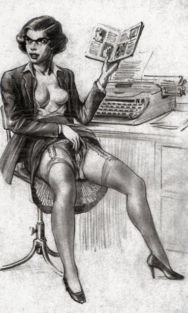 Erotic masturbation fantasy