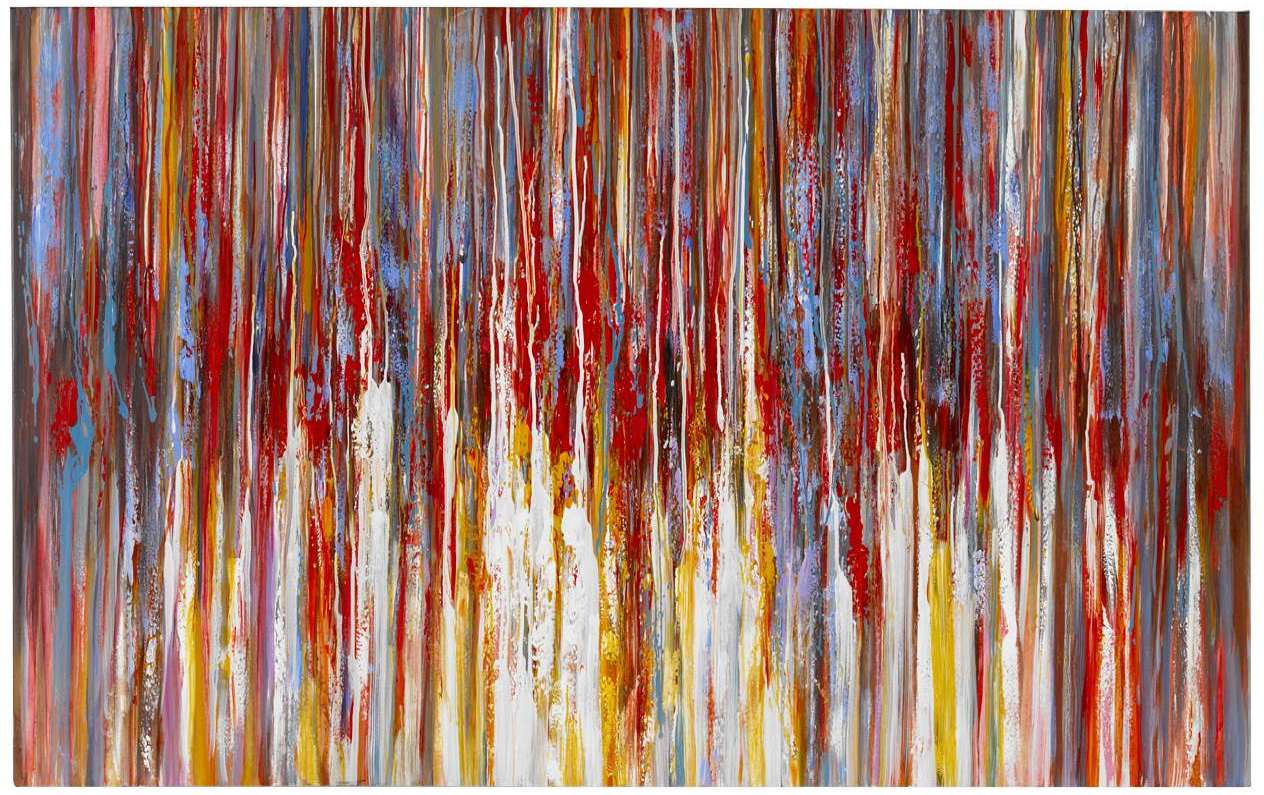 Rain Rhapsody Original Painting Modern Painting Contemporary Wall Art Art Pieces