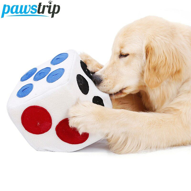 Interactive Dog Toys US $11.95 35% OFF|pawstrip Snuffle Dog Toy Plush Foam Dog Food Dispenser Interactive Dog Training Toys For Large Dogs Puppy Snacks Feeder 20*20cm-in Dog Toys from Home & Garden on Aliexpress.com | Alibaba Group