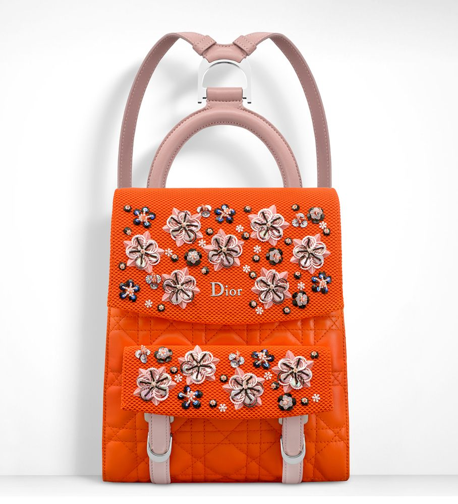 Dior Adds New Blossom Tote, Backpacks to Pre-Fall 2016 Bag Lineup and We  Have All the Pics 4f6a20e41c