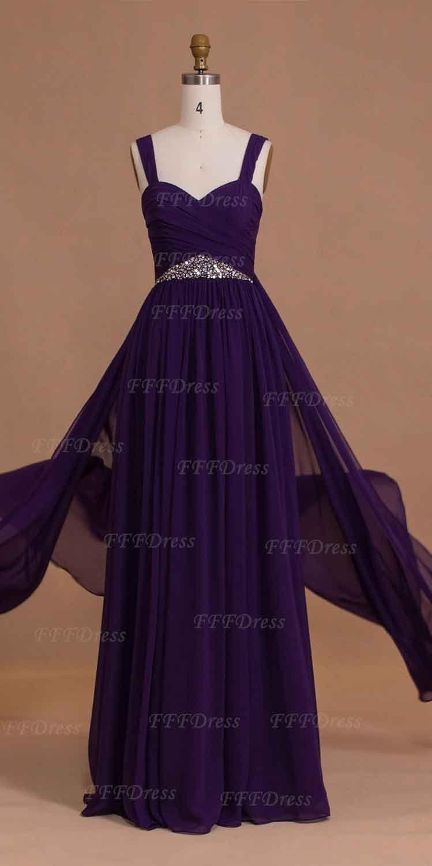 Purple long bridesmaid dresses maid of honor dresses bridesmaid