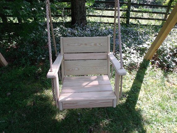 Adult Chair Wood Chair Tree Swing And Rope Tree Swing Porch Swing Chair Wood Tree Swing