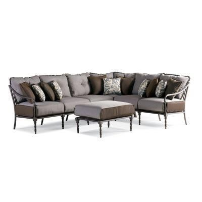 Thomasville Outdoor Summer Silhouette 4 Pc Sectional Set