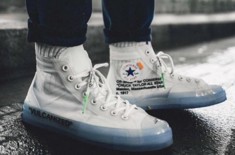 Converse X Off White Off White Converse Sneakers Men White Converse