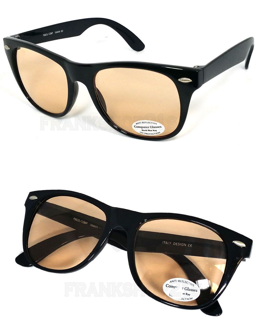 8c65f96c4deb Square Frame Anti Reflective Pro Computer Glasses Sunglasses Block Blue Ray  Uv