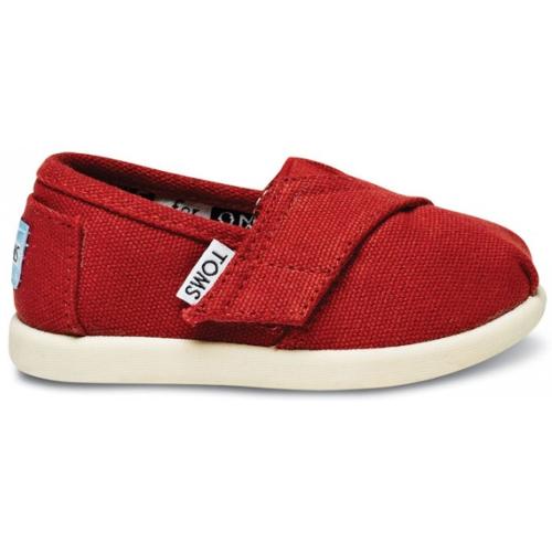 Chaussures Rouges Toms Enfants 1a8zo