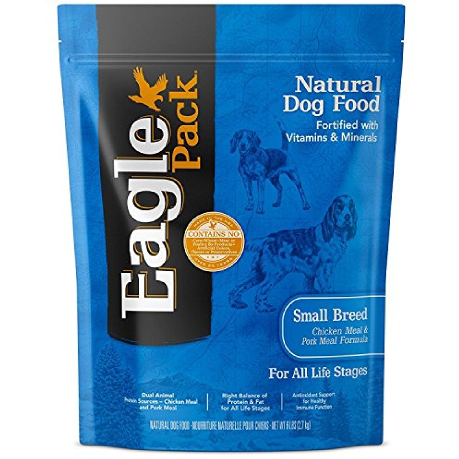 Eagle Pack Natural Pet Food Original Adult Pork Meal Chicken