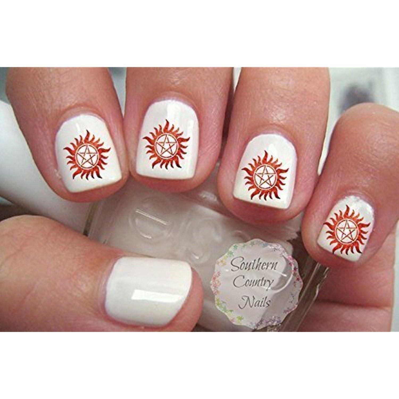 Supernatural Nail Decals Nail Art Design Read More At The Image
