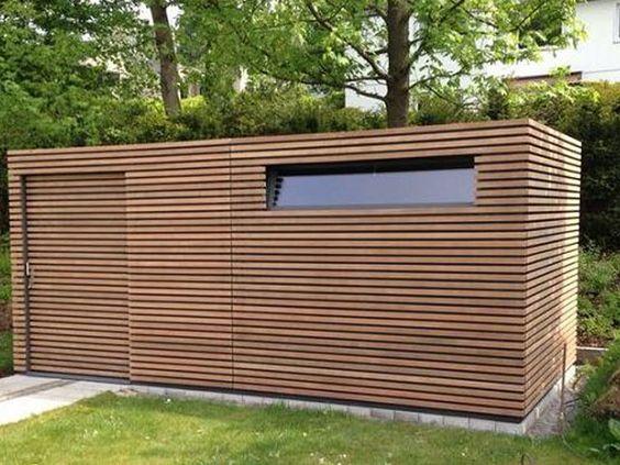 Photo of FMH: Gartenhäuser / Designgartenhäuser, FMH Metallbau und Holzbau