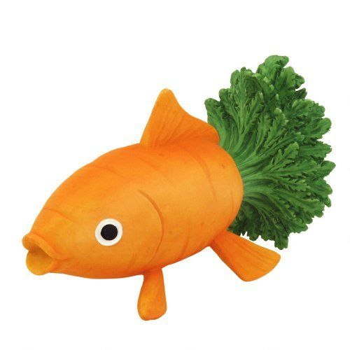 Home Grown From Enesco Carrot Goldfish Figurine 2 5 In By Enesco