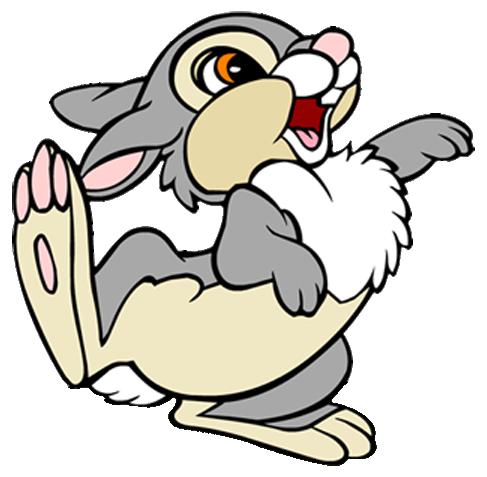THUMPER RABBIT Bambi Disney Decal Removable WALL STICKER Home Decor Art Bunny