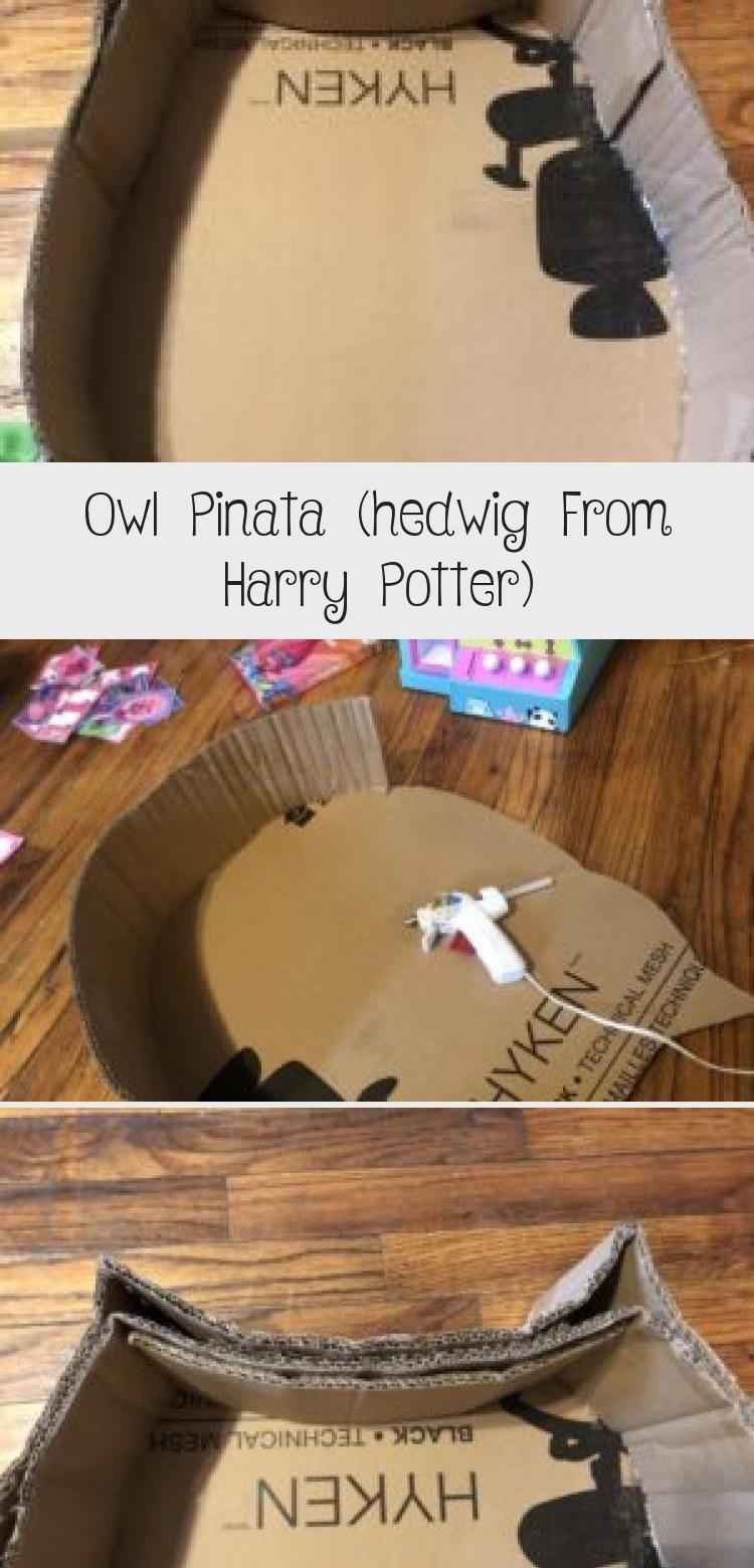 Photo of Owl Piñata DIY Harry Potter Geburtstagsfeier, Hedwig, mit Schritt für Schritt …
