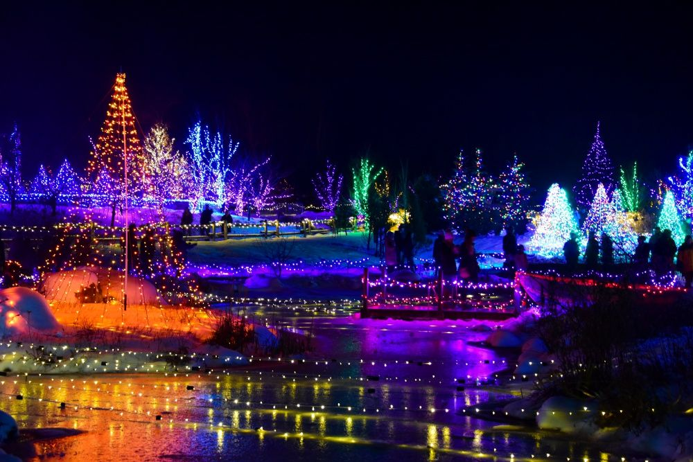 wondering where to go see christmas lights from kid friendly zoos to holy shrines these are our favorite places to see christmas lights in new england - Where To Go See Christmas Lights