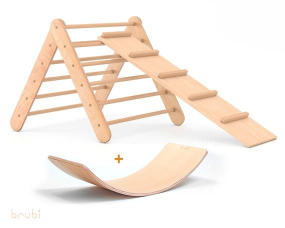 Photo of Set Triángulo Pikler + Rampa + Mecedora