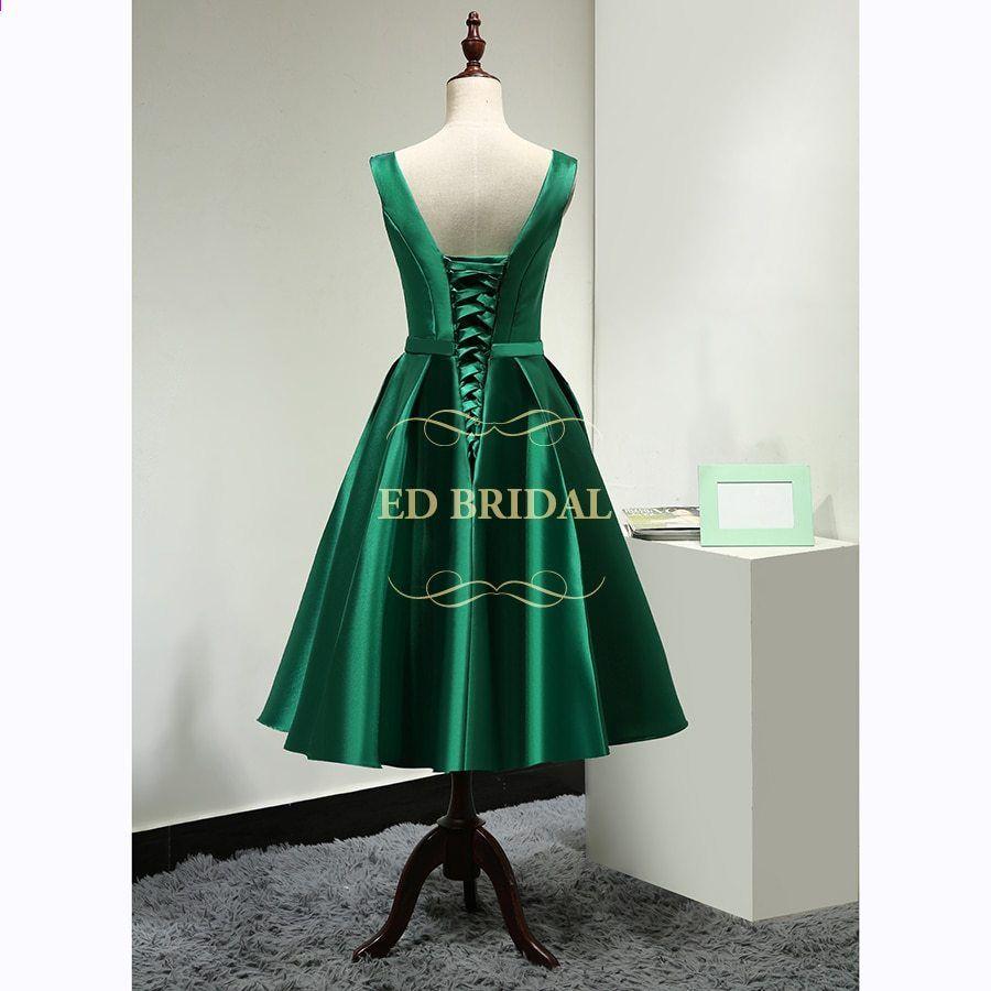 kort fest kjole