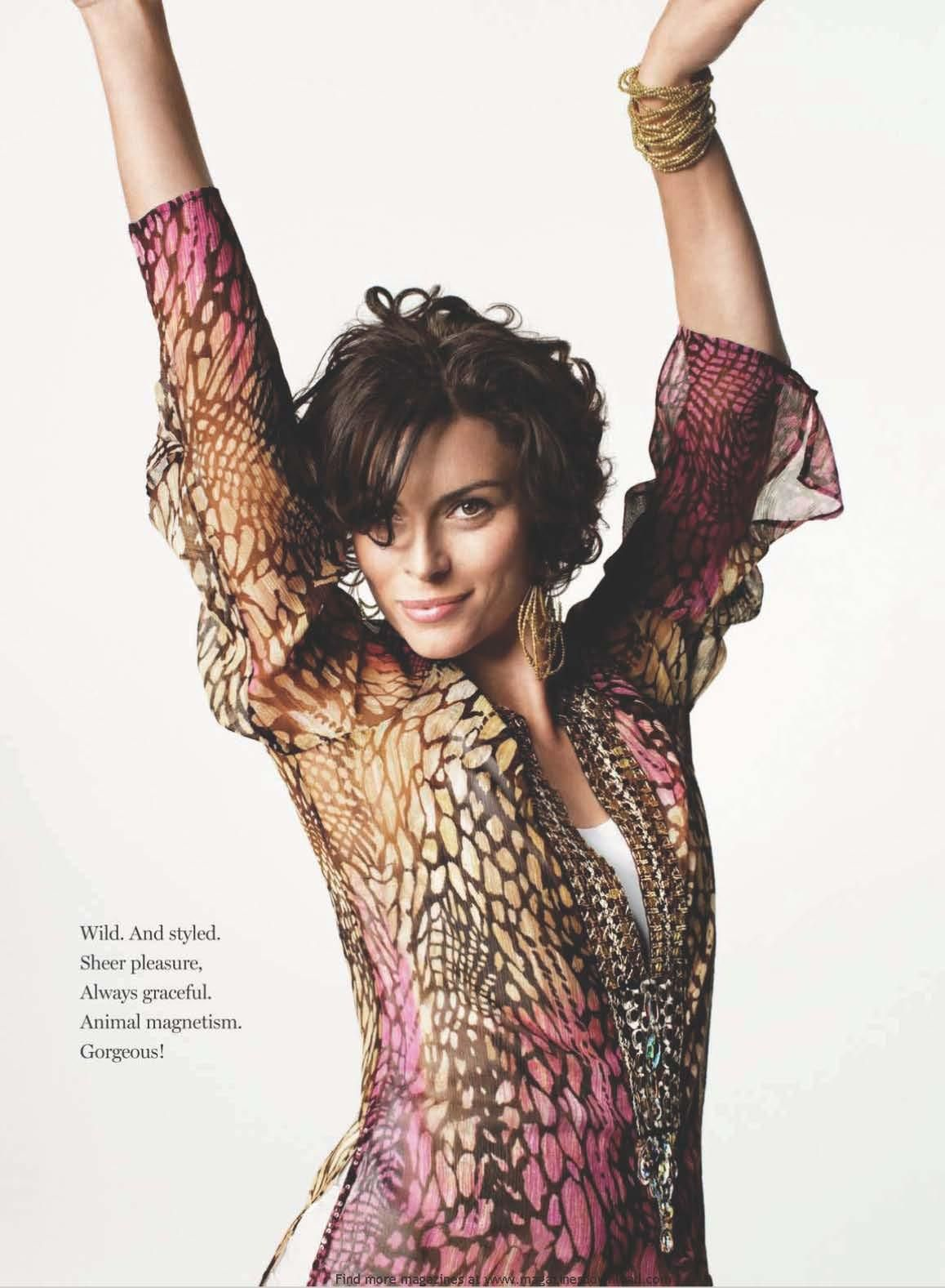 Photo of Magali Amadei - I LOVE her hairstyle!