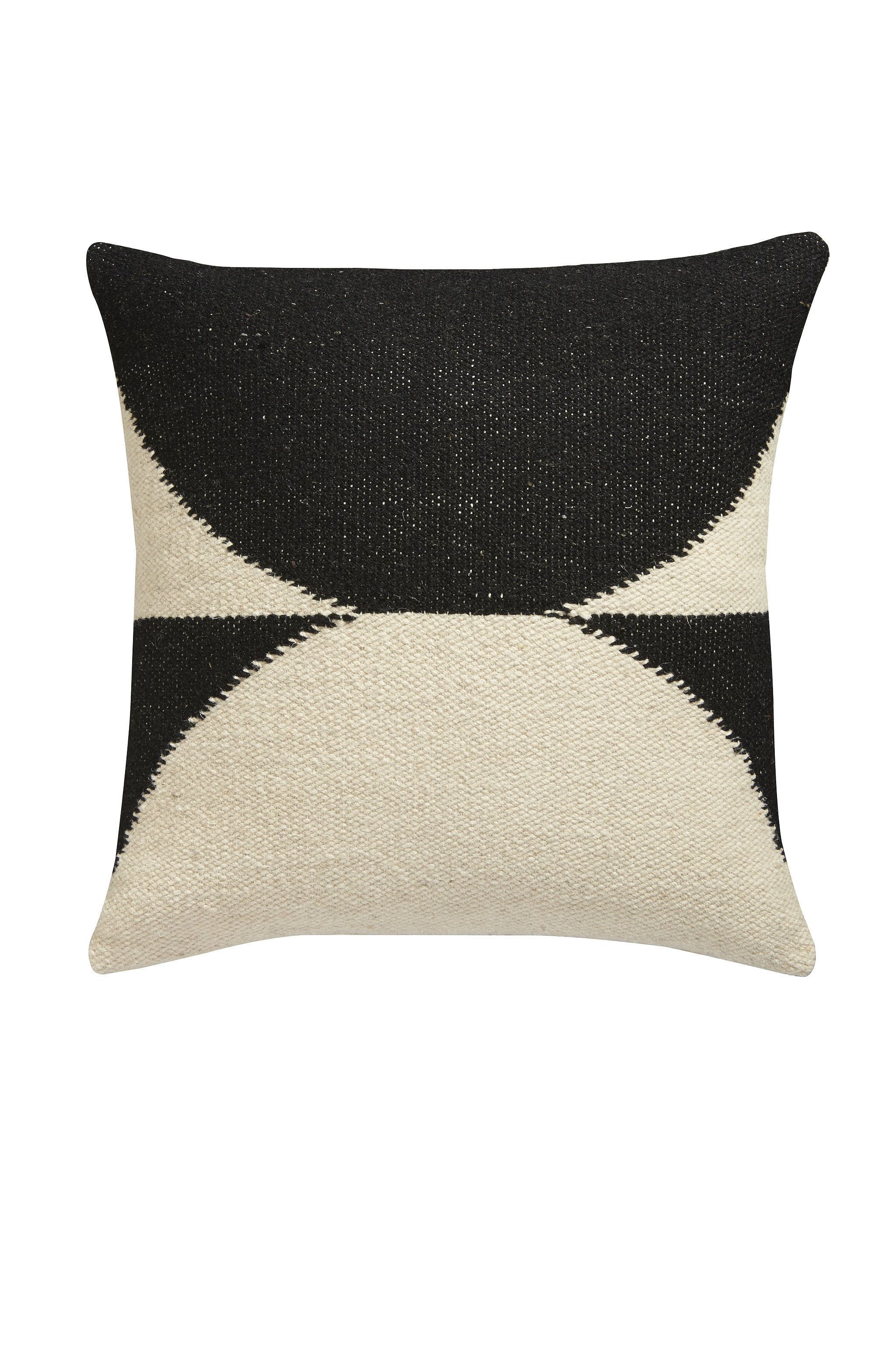 "Lenny Kravitz for CB2 ""Reflect Wool Pillow"" for $80"