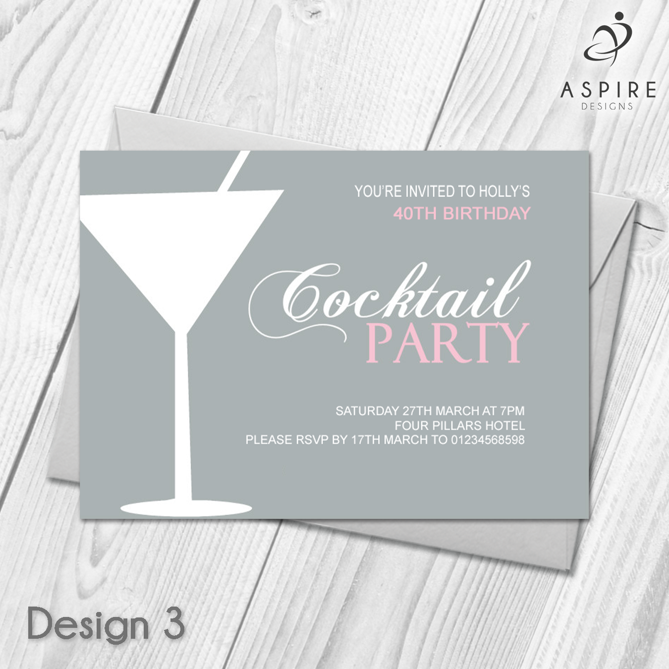 Details about Personalised Birthday Invitations | Party Invites ...