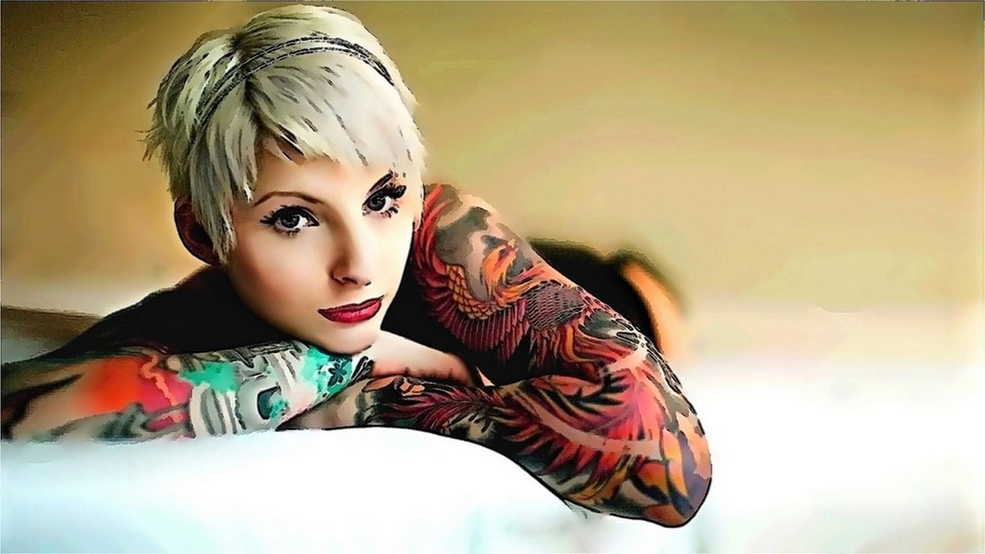 Tattoo Girl Wallpapers High Quality Download Free Girl Tattoos
