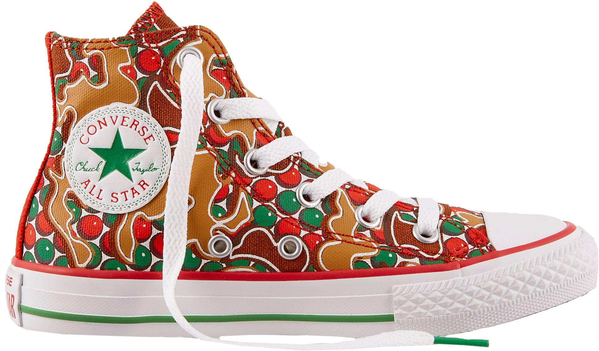 a9ae9863e82f Converse Kids  Grade School Chuck Taylor All Star Gingerbread Hi-Top Shoes