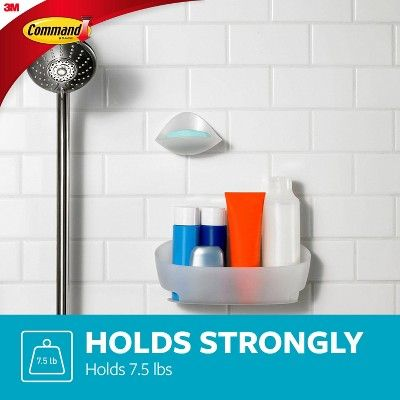 Command Shower Caddy 1 Caddy 4 Mounting Bases 4 Large Strips