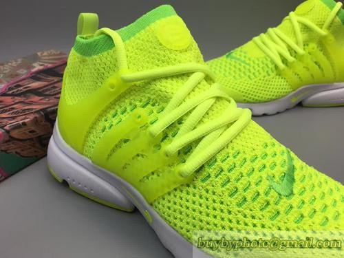 2fa8325a32a Nike Air Presto Flyknit Ultra Fluorescent green