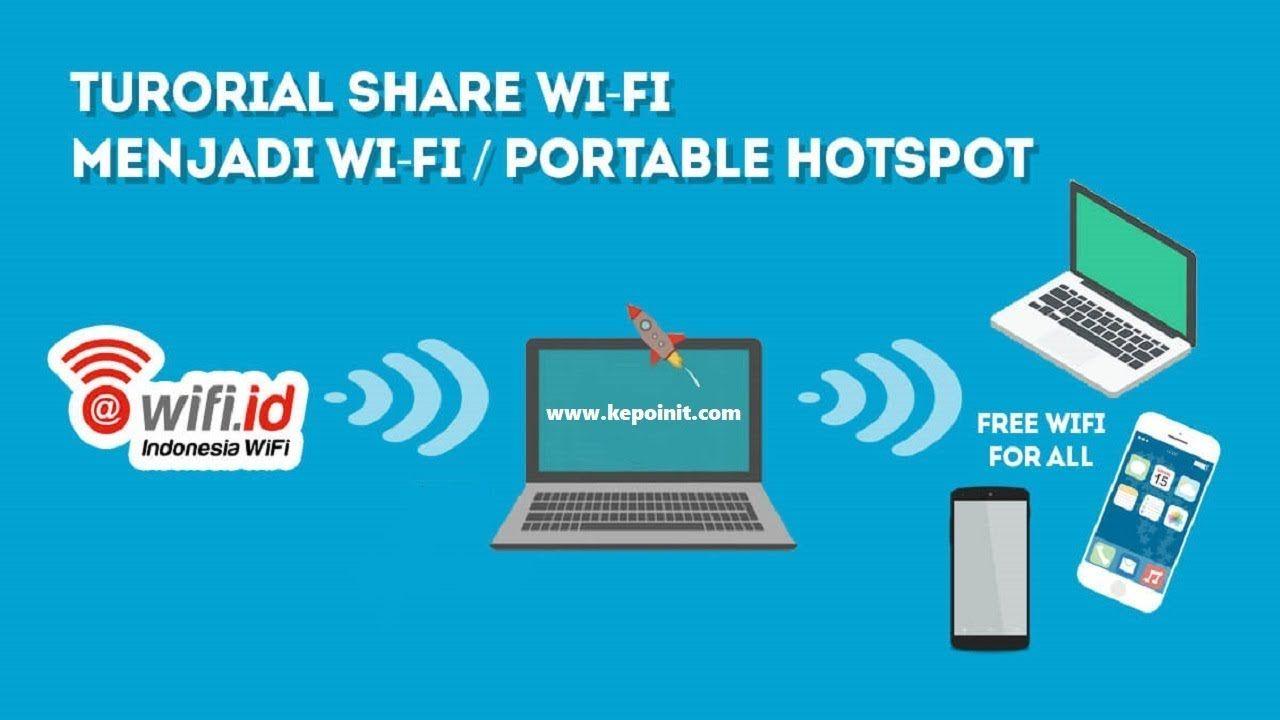 Cara Membuat Laptop Menjadi Hotspot Wifi Pengetahuan