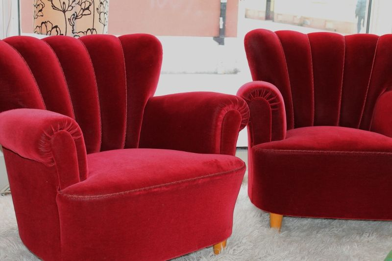 Red velvet   Interior design, Decor, Cinema room