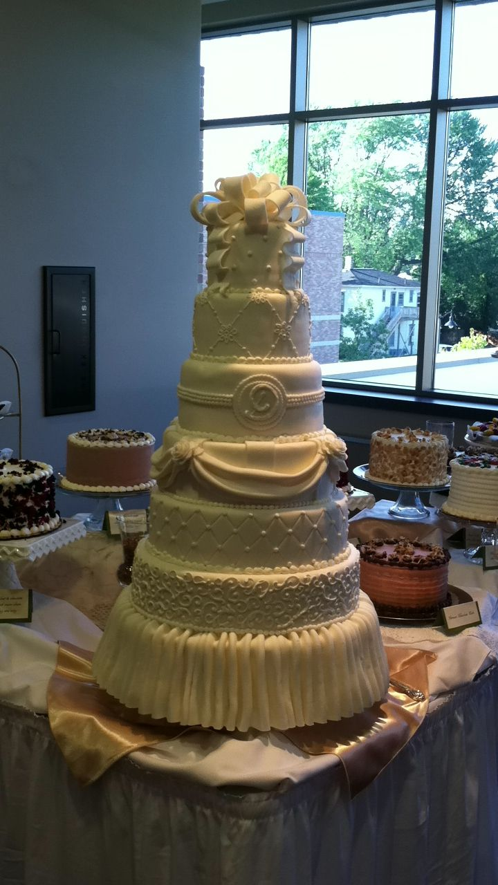 Marvelous Wedding Cake, Second Floor Bakery Holland Mi