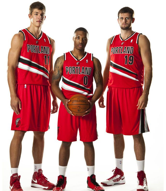 Portland Blazers Roster 2012: Portland Trail Blazers New 2012 Uniforms 17 New Portland