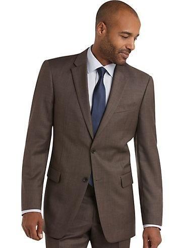 Latest Coat Pant Designs Brown Formal Custom Wedding Suit For Men Groomsman Notched Lapel Slim Fit