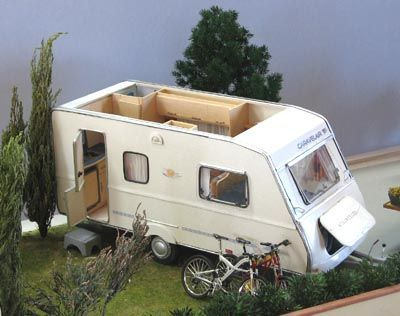 comment fabriquer une caravane miniature. Black Bedroom Furniture Sets. Home Design Ideas