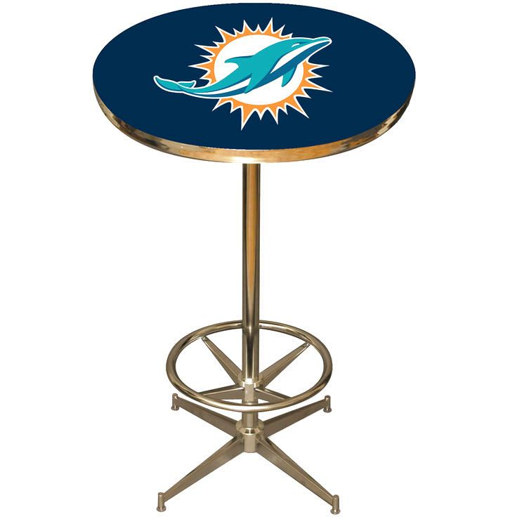 Miami dolphins pub table 38399 miami dolphins cheerleaders get into the game with an officially licensed nfl pub table by imperial billiards the nfl pub tables are perfect for your game room garage or kitchen watchthetrailerfo