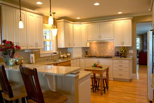 Small Kitchen Design Layout | kitchen & bath gallery » Interior ...