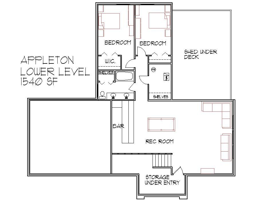 1500 Sq Ft Floor Plans Home plans Pinterest