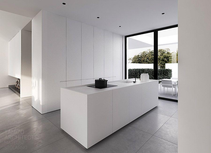 Single-family house interior design, Warsaw  TAMIZO ARCHITECTS  ARCHVIZ  Pinterest ...