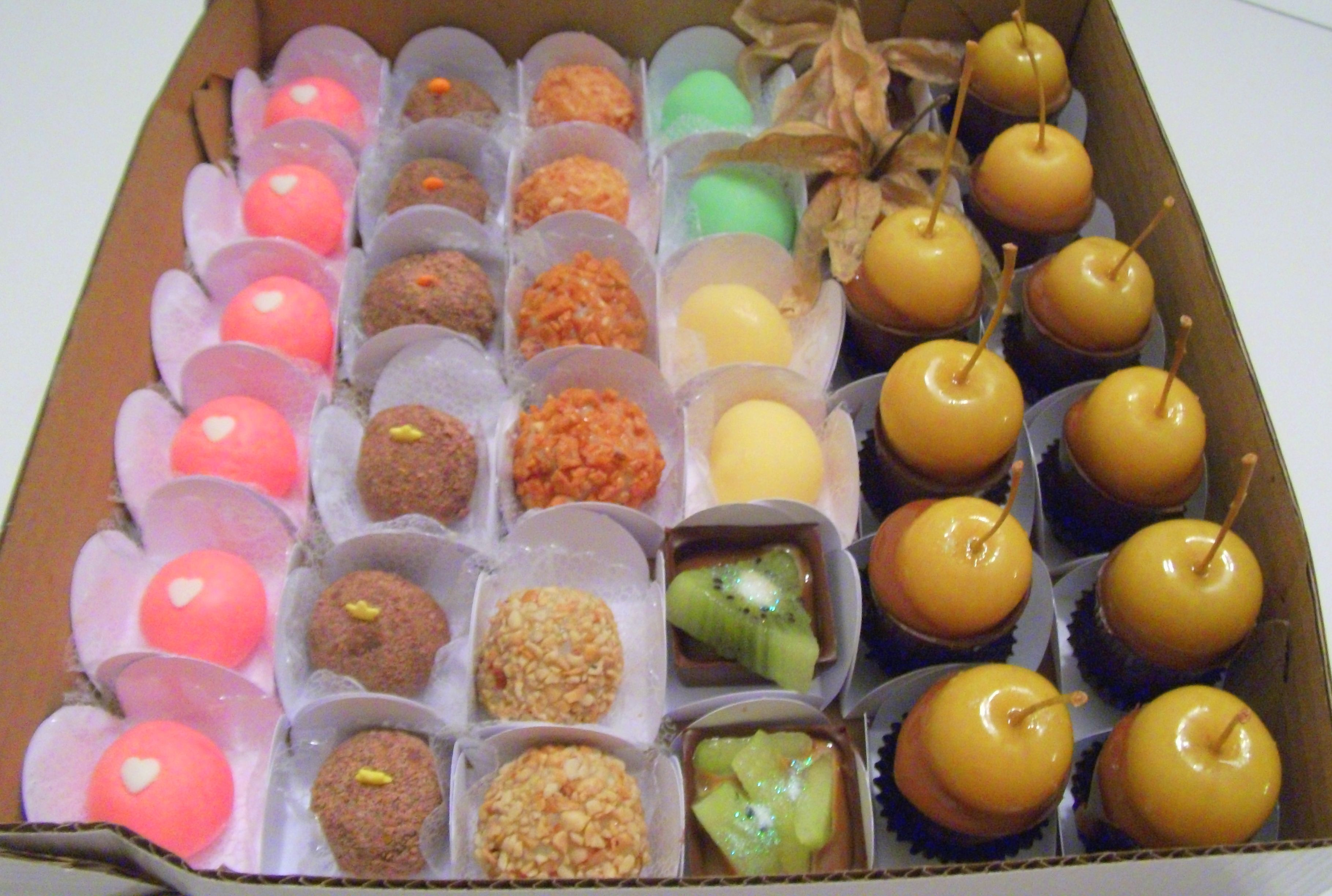 Caixa de doces sortidos