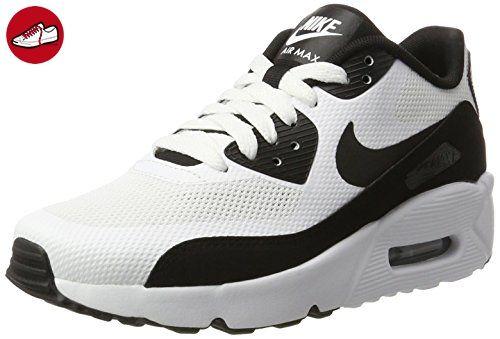 Nike Unisex-Kinder Air Max 90 Ultra 2.0 (GS) Sneaker, Weiß (White/Black-White), 35.5 EU - Nike schuhe (*Partner-Link)
