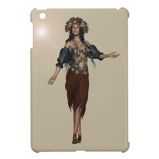 Autumn Girl iPad Mini Cover