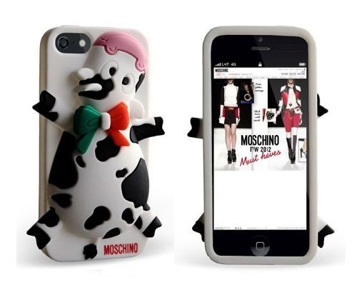 Moschino Lovely Sweet Cow case for Iphone 4/4S/5/5S Pre