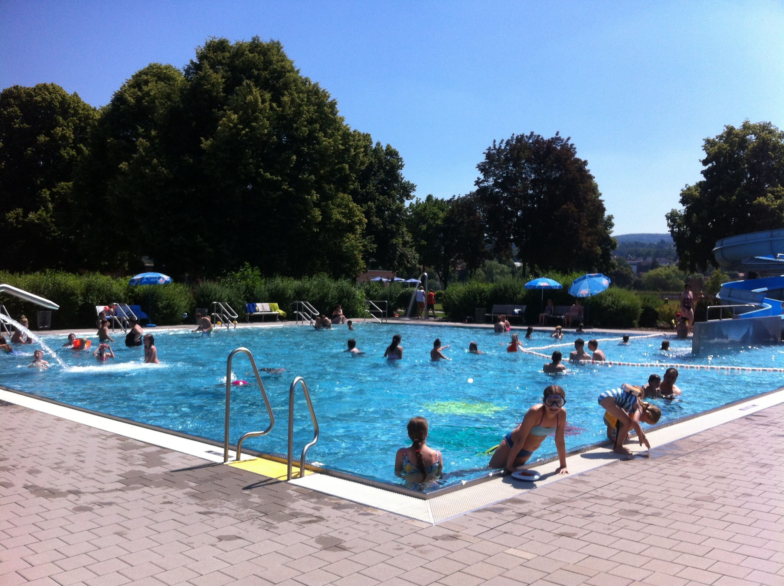 Schwimmbad In Steinau 2015 Outdoor Outdoor Decor Pool