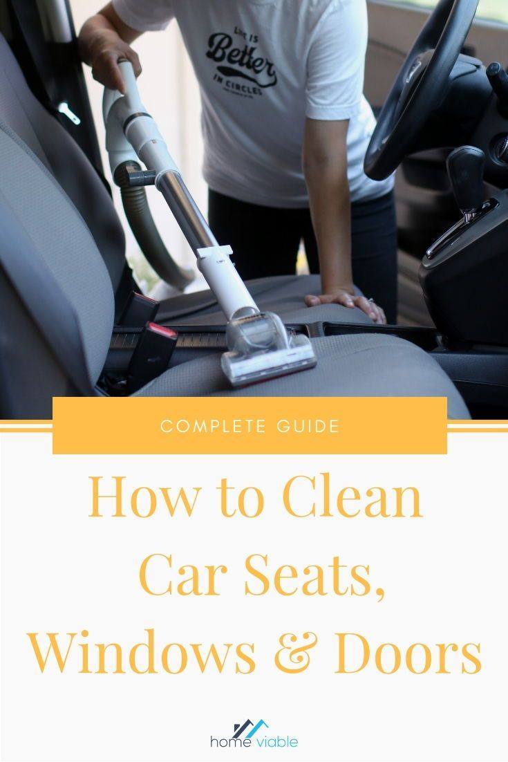 How to Clean and Detail Your Car Interior